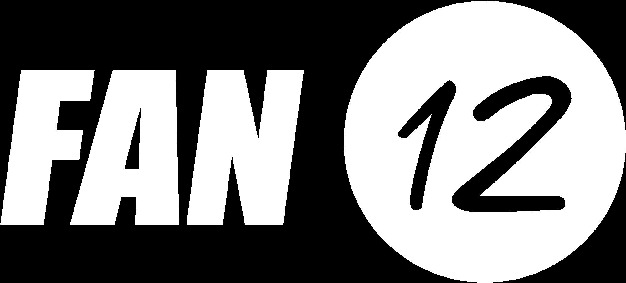 Fan12 Logo weiß